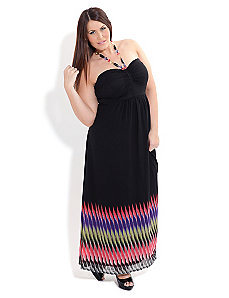 Vibration Border Maxi by City Chic
