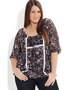 Chiffon Top by City Chic