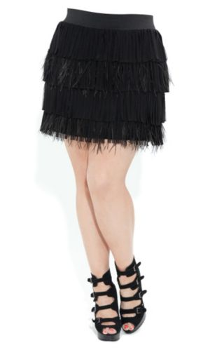 Feather Fantasy Skirt