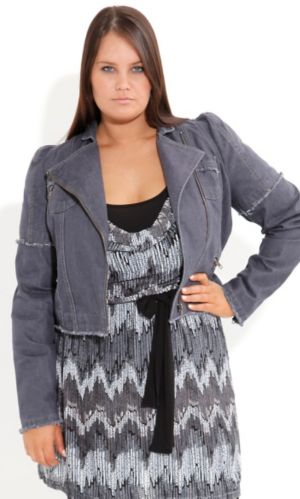 Frayed Edge Jacket
