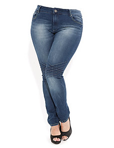 Lattace Skinny Jeans by City Chic