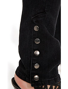 Stud Hem Skinny by City Chic