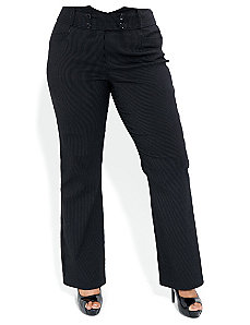 Pinstripe Tux Pants by City Chic