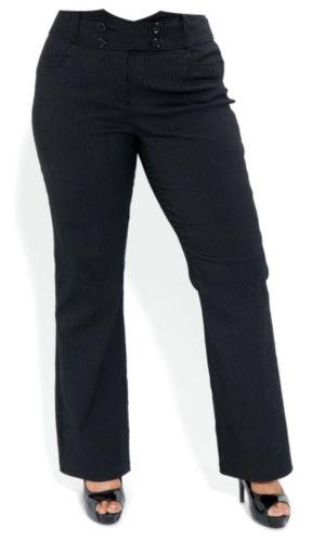 Pinstripe Tux Pants