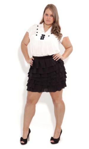 So Cute Ruffle Skirt