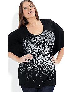 Purr Sequin Top by City Chic
