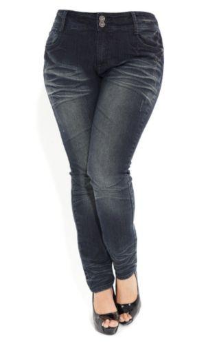 Scrunch Leg Skinny Jeans