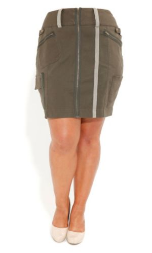 Utility Pencil Skirt