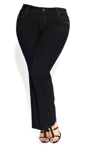 Glamourazon Black Jeans