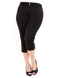 Cropped Audrey Pants by City Chic
