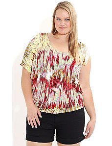 Crazy Snakey Top by City Chic