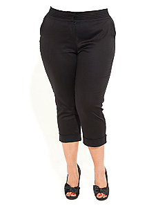 Siren Cropped Pants by City Chic