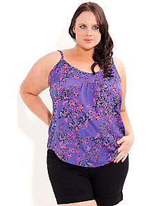 Strappy Confetti Top by City Chic