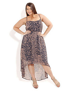 Animal Dream Hi Lo Maxi by City Chic