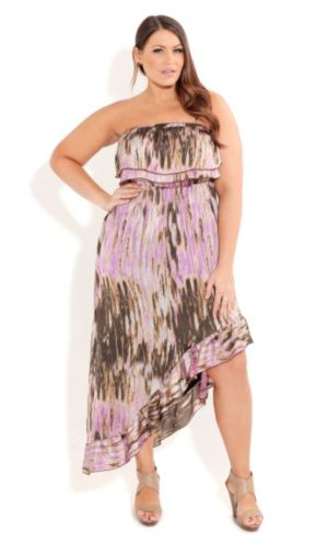 Purple Haze Hi Lo Maxi
