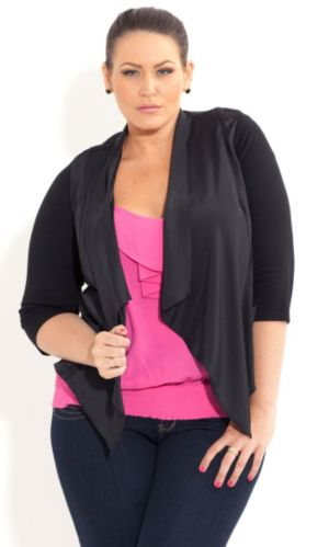 Drapey Pocket Jacket