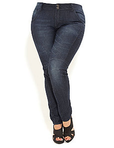 Road Trip Skinny Jeans by City Chic