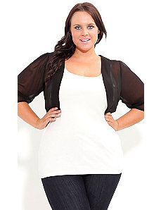 Chiffon Shrug by City Chic
