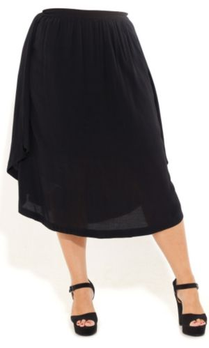 Drapey Frill Skirt