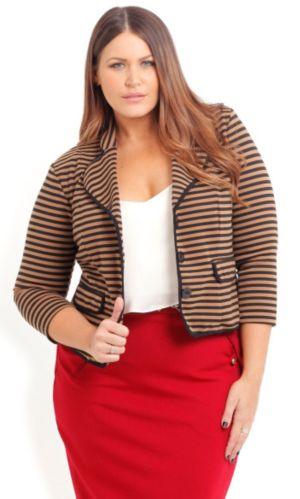 Preppy Stripe Jacket