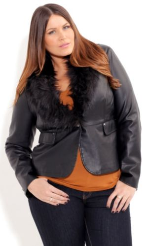 Steveie Fur Collar Jacket