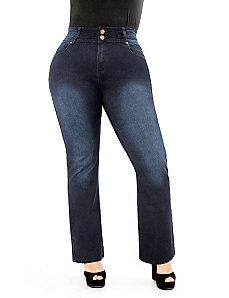 Pear Bootleg Jeans Regular by City Chic
