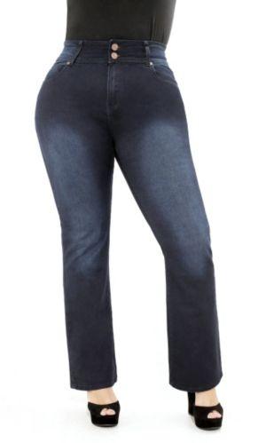 Pear Bootleg Jeans Short