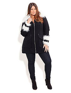 Ski Bunny Jacket by City Chic