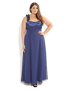 Beaded Night Sky Maxi by City Chic