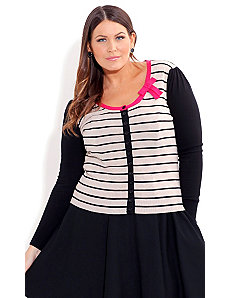 Miss Pris Cardigan by City Chic