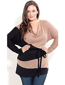 Spliced Longline Jumper by City Chic