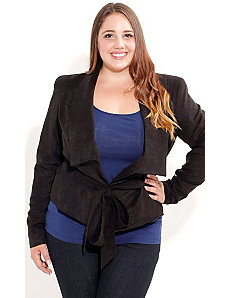 Wrap Me Up Jacket by City Chic