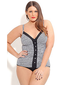 Black Lolita One Piece by City Chic