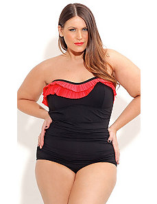 Pin Up One Piece by City Chic