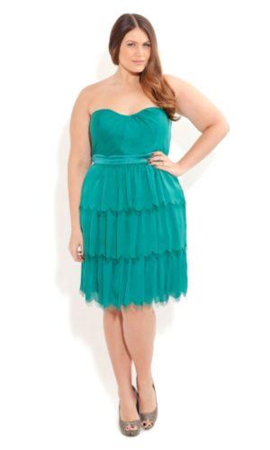 Eyelash Frill Dress
