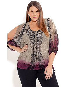 Lacey Lady Top by City Chic