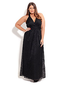 Jacquard Geometric Maxi by City Chic