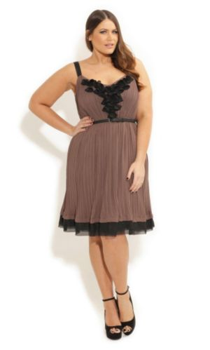Frill Petal Dress