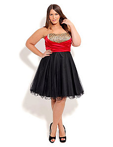 Rockabilly Prom Dress by City Chic