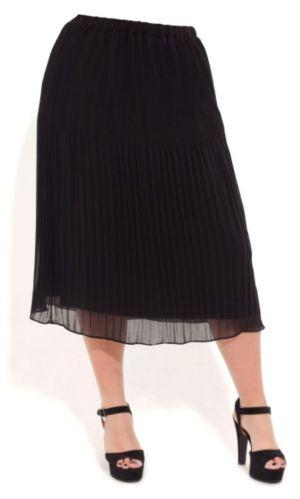 Fine Pleat Midi Skirt