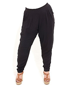 Relaxed Harem Pants by City Chic