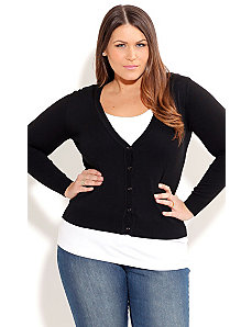 Cute Must Have Cardigan by City Chic