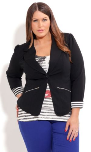 Zip Trim Jacket