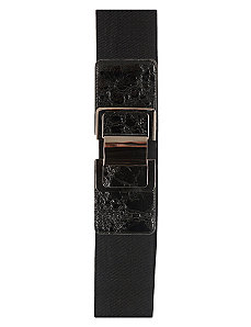 Patent Buckle Belt by City Chic