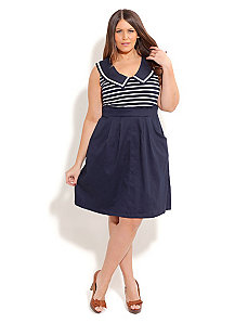 Hello Sailor Dress by City Chic