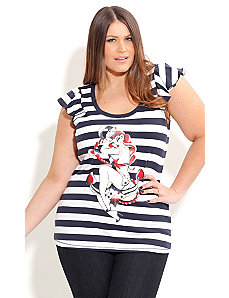 Anchor Girl Top by City Chic