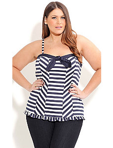 Sailor Sally Corset by City Chic