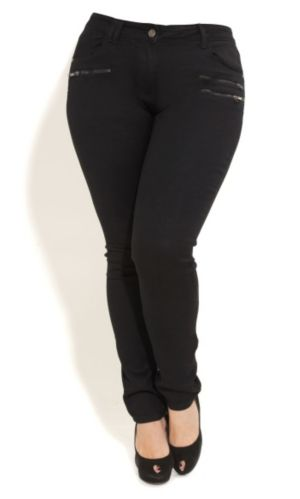 Black Night Skinny Jeans