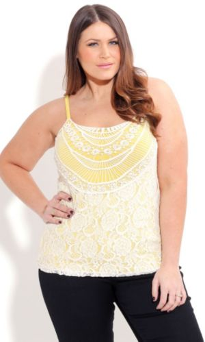 Crochet Layer Cami