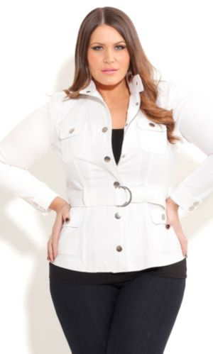 Pure Utility Jacket with Belt